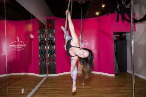 aerial hoop instructor